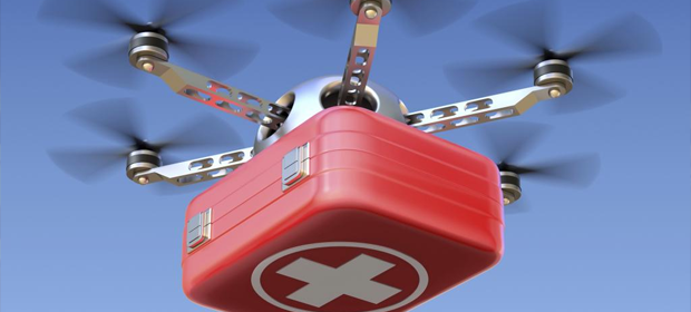 Drones – The Future of Medical Transport?